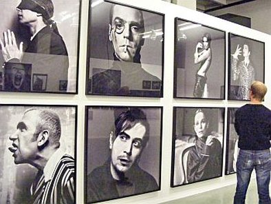 Michel Comte exhibition, Museum fur Gestaltung Zurich. תמונה: רוני ערן