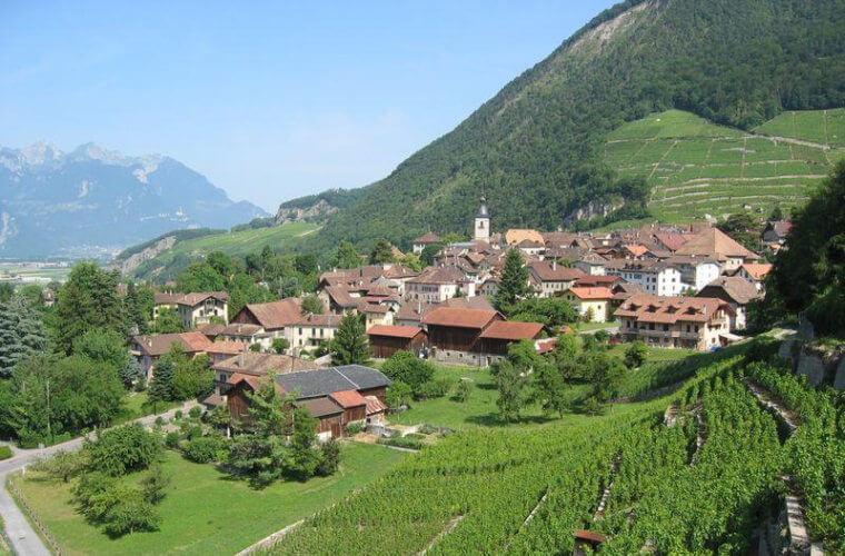 כפר היין אולון (Ollon)